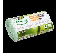 Мусорные пакеты BioBag компостируемые, 6л, 30 шт