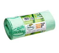 Мусорные пакеты BioBag компостируемые, 150л, 5 шт