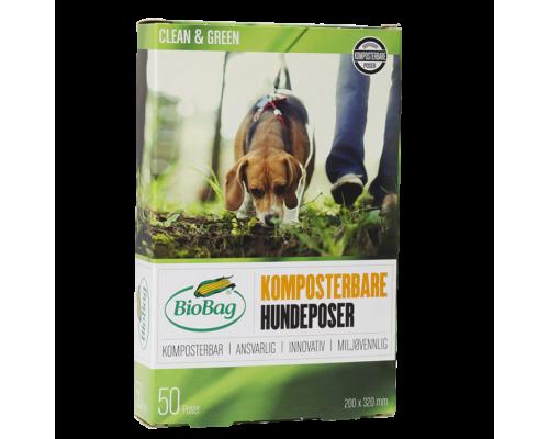 Пакеты для уборки за животными компостируемые BioBag, 50 шт.