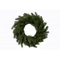 Рождественский венок зеленый, диаметр 50 см.