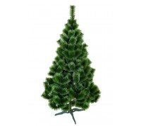 Новогодняя искусственная сосна Зеленая заснеженная 1,8 м