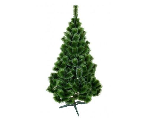 Новогодняя искусственная сосна Зеленая заснеженная 2,5 м