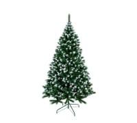 """Искуственная елка """"Аляска"""" зеленая с белыми побегами, 2,1 м."""