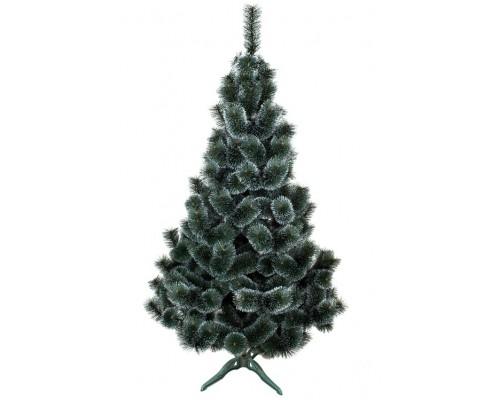 Новогодняя сосна Заснеженная зеленая, 2,5 м