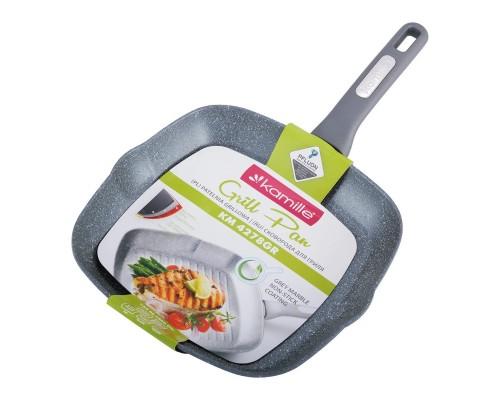 Сковорода-гриль с антипригарным покрытием27*27*4см