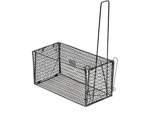 Крысоловка - клетка металлическая, черная