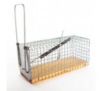 Крысоловка-клетка на деревянной основе