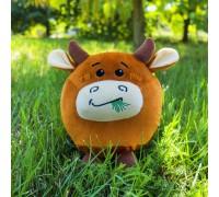 Мягкая игрушка бык Эрба, Символ 2021 года, 22см