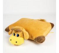Мягкая игрушка, подушка Бычок Символ 2021 года 37см