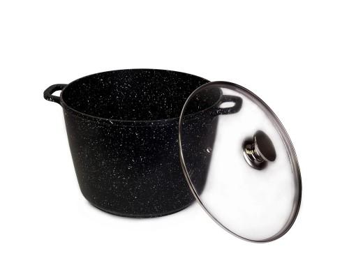 Кастрюля с антипригарным покрытием 28*20 см. Kamille