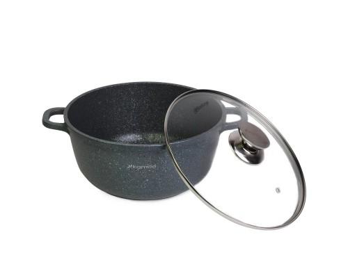 Кастрюля с антипригарным покрытием 24*11,5 см. Kamille