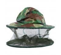 Шляпа с антимоскитной сеткой, хаки