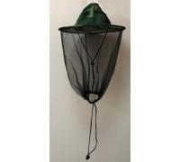 Шляпа с сеткой от комаров хлопок, хаки