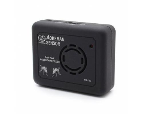 Отпугиватель комаров Aokeman AO-149 на батарейках, черный