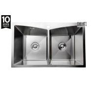 Кухонная мойка Galati Arta U-730D, 78*48см., две чаши