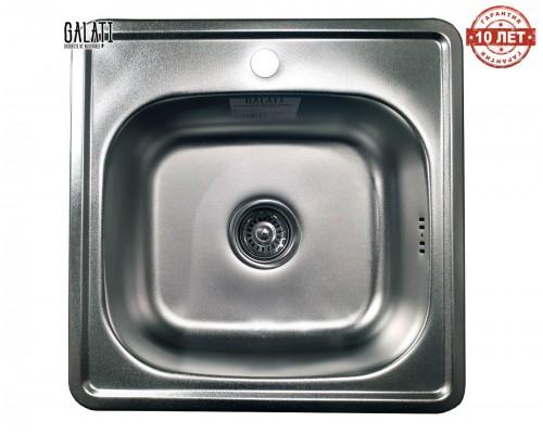 Кухонная мойка квадратная Galaţi Fifika Textură 48*48см декор