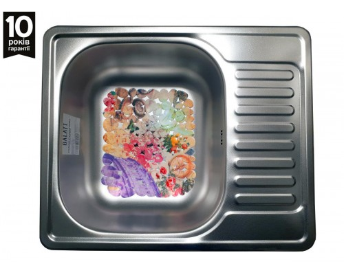 Мойка для кухни Galaţi Sims Textura 58*48см декор
