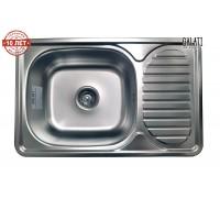 Кухонная мойка Galaţi Mirela Satin 66*42см с крылом