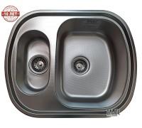 Кухонная мойка Galaţi Vayorika 1.5C Textură 60*49см. с дополнительной чашей