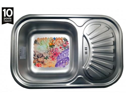 Кухонная мойка Galaţi Stelă Textură 75*49см. верхний перелив