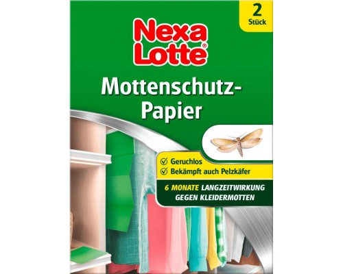 Клеевая ловушка от платяной моли Nexa Lotte, 2 шт.