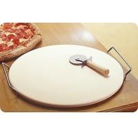 Камень для пиццы, Orion 33 см с подставкой и ножом