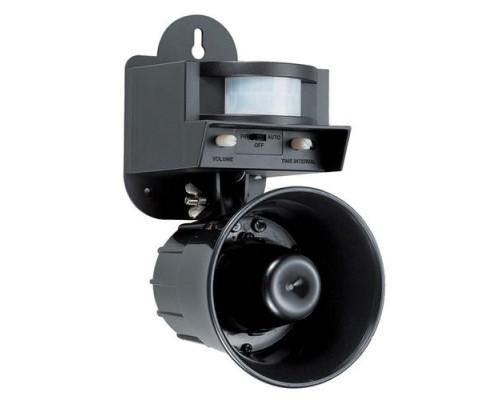 Звуковой отпугиватель птиц  Leaven Enterprise LS-2001,  черный 40 соток