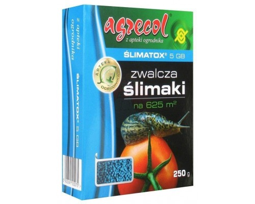Средство от улиток, слизней Slimatox 5GB, Agrecol  250г