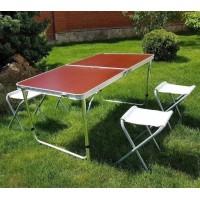 Раскладной стол для пикника, 120*60*70см без стульев