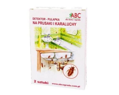 Ловушка для тараканов с феромонной приманкой ABC,  2шт