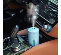 Увлажнитель воздуха и ночник 2 в 1 Starry Sky Cup, встроенный аккумулятор, голубой