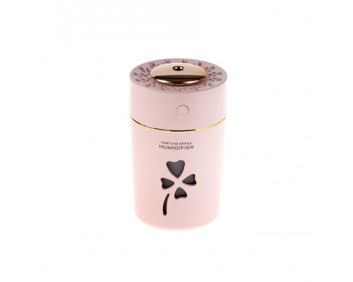 Мини Увлажнитель-ночник Fortune Grass Humidifier, розовый
