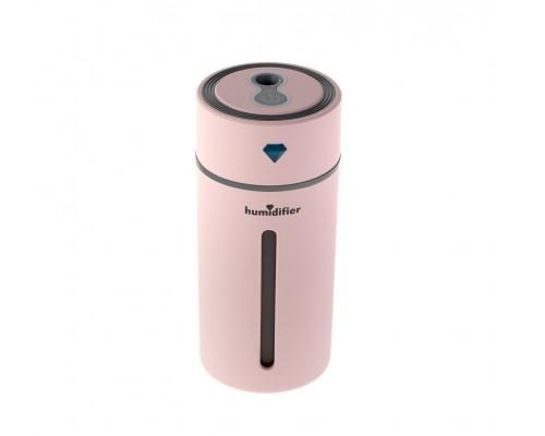 Увлажнитель-ночник мини Diamond Cup Humidifier, розовый