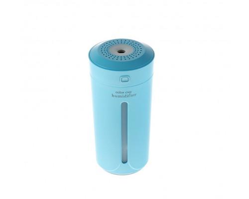 Мини Увлажнитель-ночник Color Cup Humidifier, голубой