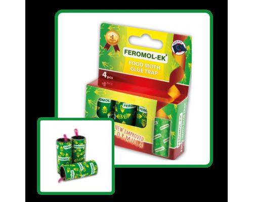 Липкая лента для пищевой моли Feromol-EK Chemis, 4 шт