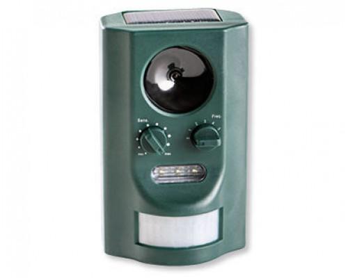 Отпугиватель животных Garden Line SO-745 на солнечной батарее с выбором частоты, зеленый